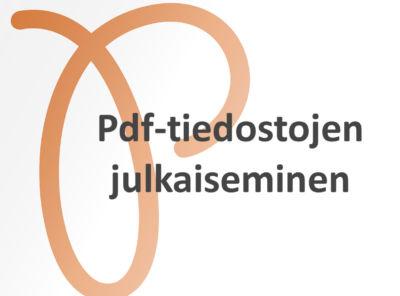 pdf-tiedostojen-julkaiseminen