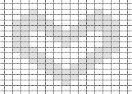 sileaneulos-kuvio-nurjilla-sydan-piirros
